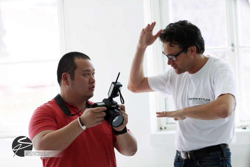 Nude & Glamour Photography Courses In Prague - StudioPrague & Dan Hostettler Photo Workshops - Behind The Scenes - B2 - 024