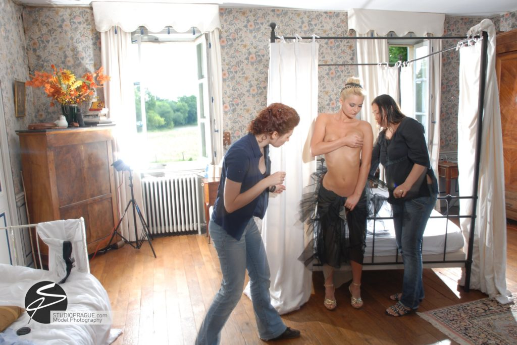 Behind The Scenes Impressions - Glamour Model Productions & Nude Photography Workshops - Photo Model Makeup & Styling - 008