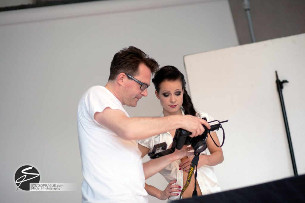 Behind The Scenes Impressions - Glamour Model Productions & Nude Photography Workshops - Studio Lighting ESL - 004