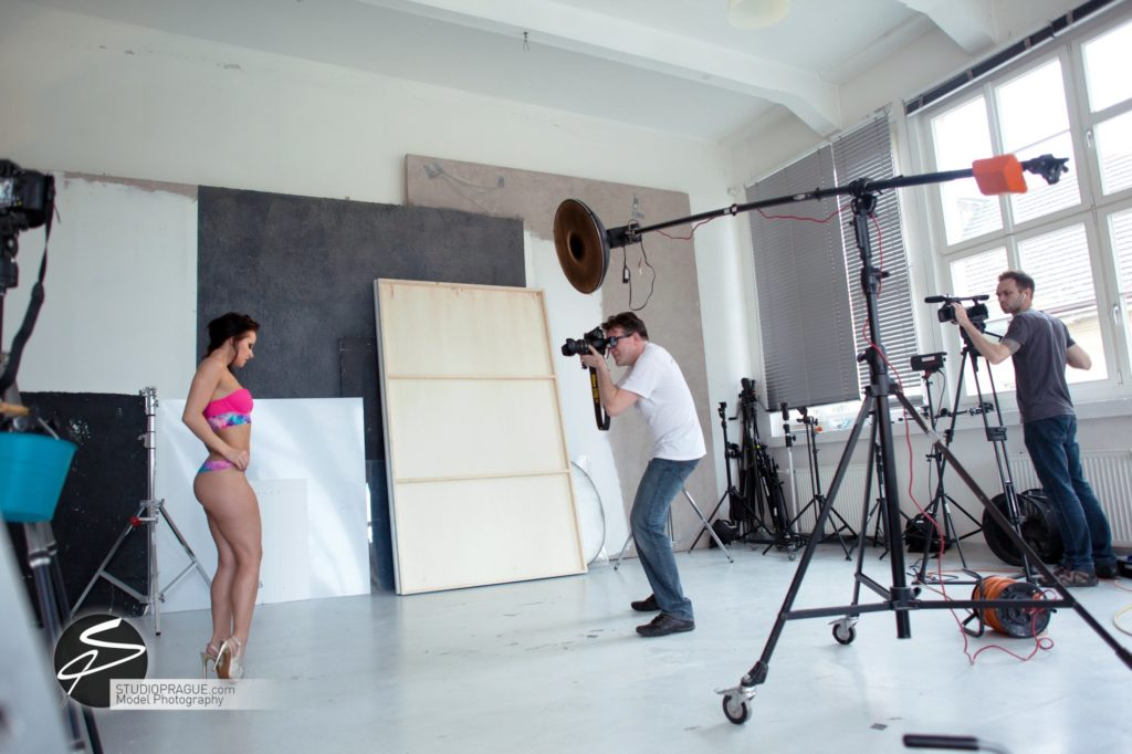 Behind The Scenes Impressions - Glamour Model Productions & Nude Photography Workshops - Studio Lighting ESL - 005