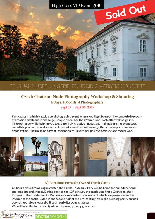 Czech-Chateau-Sensual-Nudes-Photography-Workshop-Shooting-September-2019-StudioPrague & Dan Hostettler