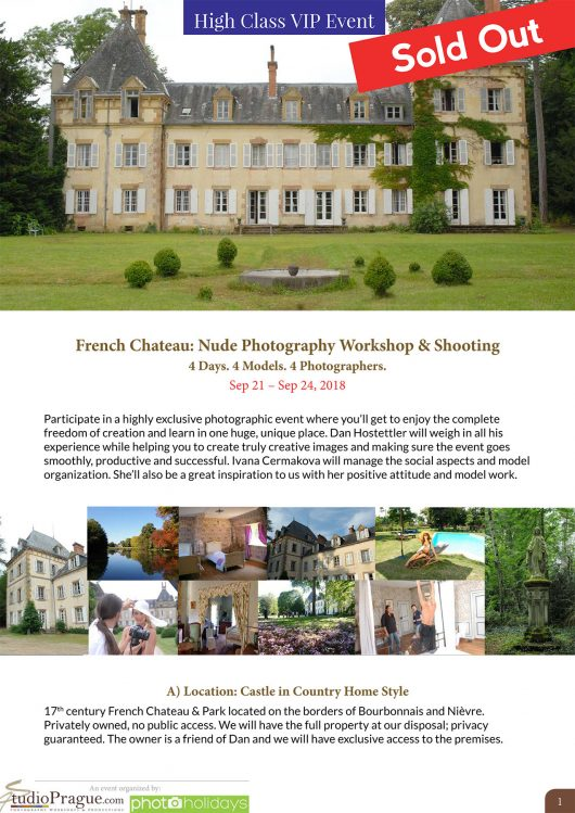 French-Chateau-Nude-Photography-Workshop-Shooting-September-2018-StudioPrague & Dan Hostettler