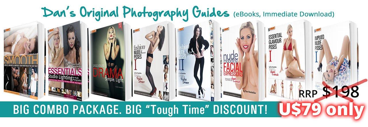 DISCOUNT COMBO PACKAGE: Dan Hostettler's 8 Original Photography Guides