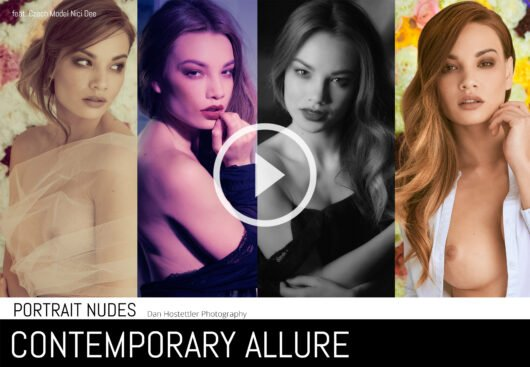 Nude Photography - Contemporary Allure - Portrait Nudes with Nici Dee & Dan Hostettler Photography, StudioPrague