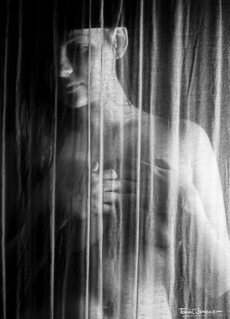 Expressive B&W Nudes by Tomas Jungvirt Photography